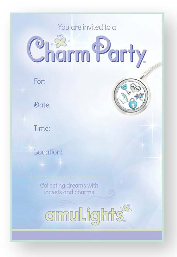 Charm Party Invitations