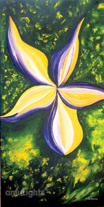 Yellow Iris Dream Painting