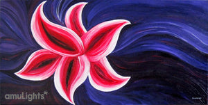 Pink Flower Painting 4