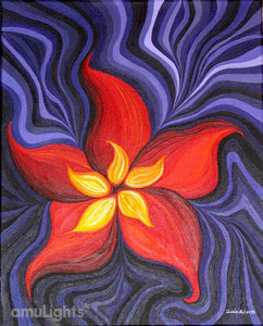 Fire Flower Painting 5