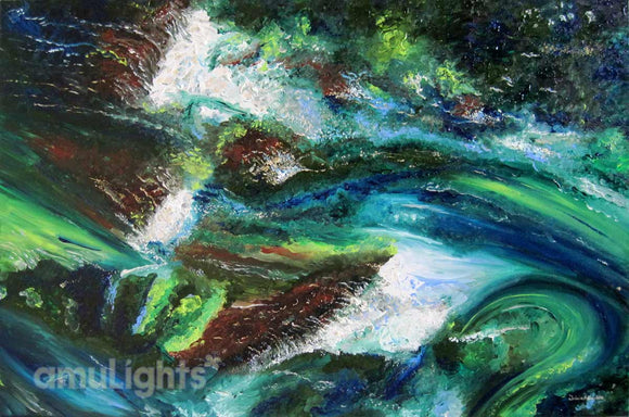 Rough Waters Painting