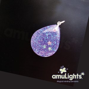 Purple PrismDrop: Drop Pendant