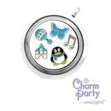 Music Eighth Notes Charm