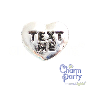 Text Me Heart Charm