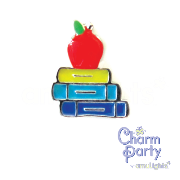 Apple/Books Charm