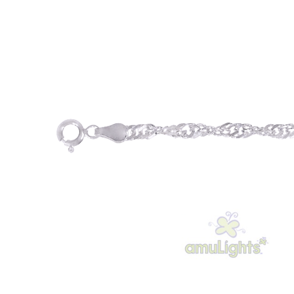 925 Sterling Silver Chain / Singapore