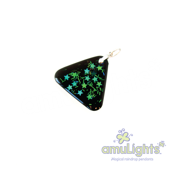 NightDrop: Triangle Pendant