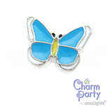 Blue Butterfly Charm