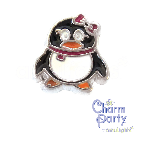 Girl Penguin Charm