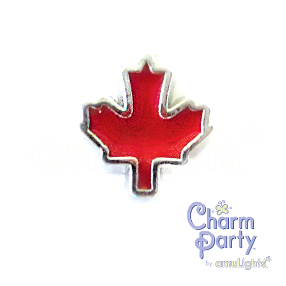 Canadian Leaf Charm