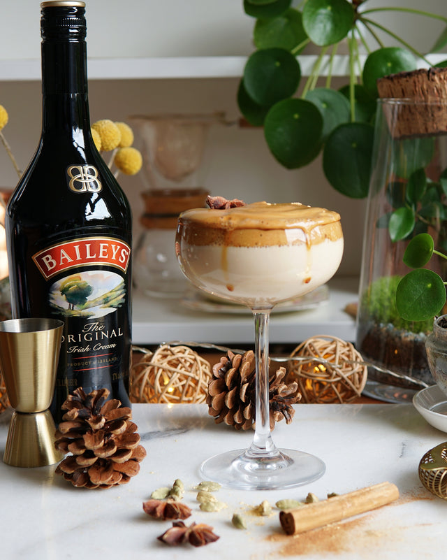 Baileys Whipped Chai Dalgona Coffee