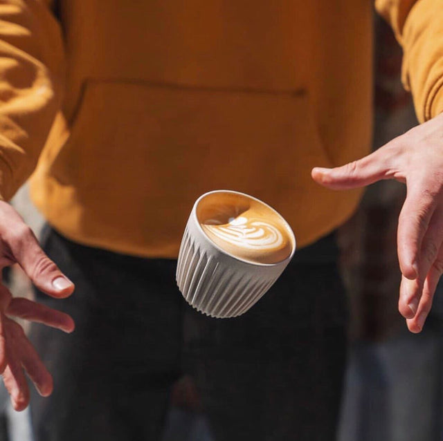 Cups made from coffee waste? A sustainable option for your morning brew
