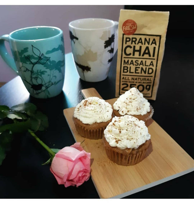 Apple Chai Latte Muffins