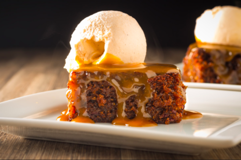 Chai Sticky Toffee Pudding