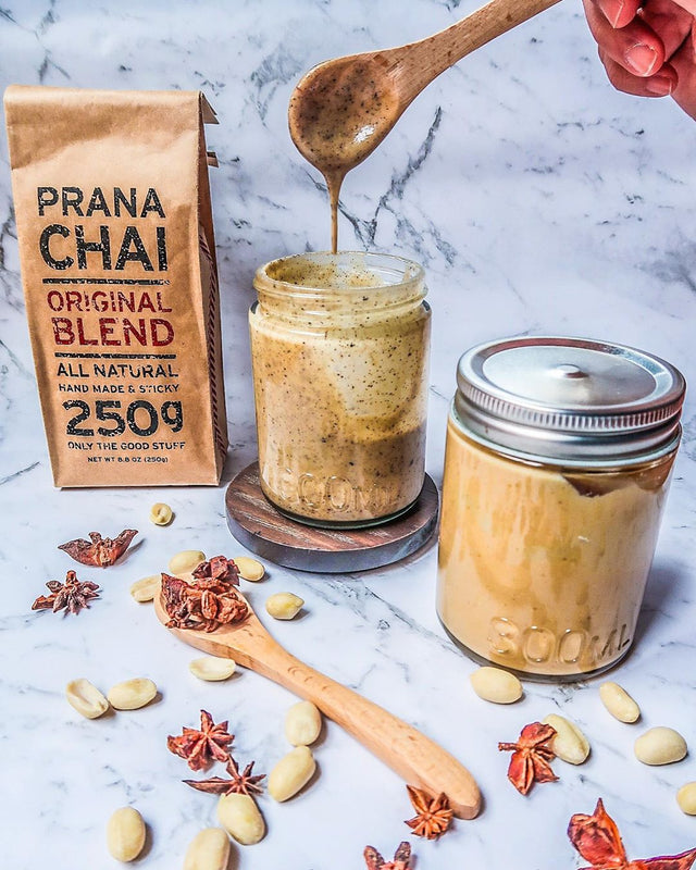 Homemade Chai Peanut Butter