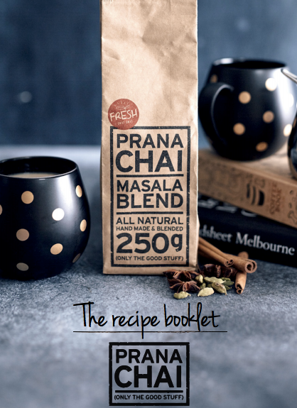 Prana Chai Recipe Booklet