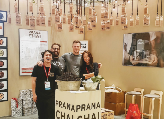 Prana Chai at Seoul International Coffee Show