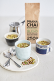 Prana Chai Peppermint Blend Ingredients in Cups