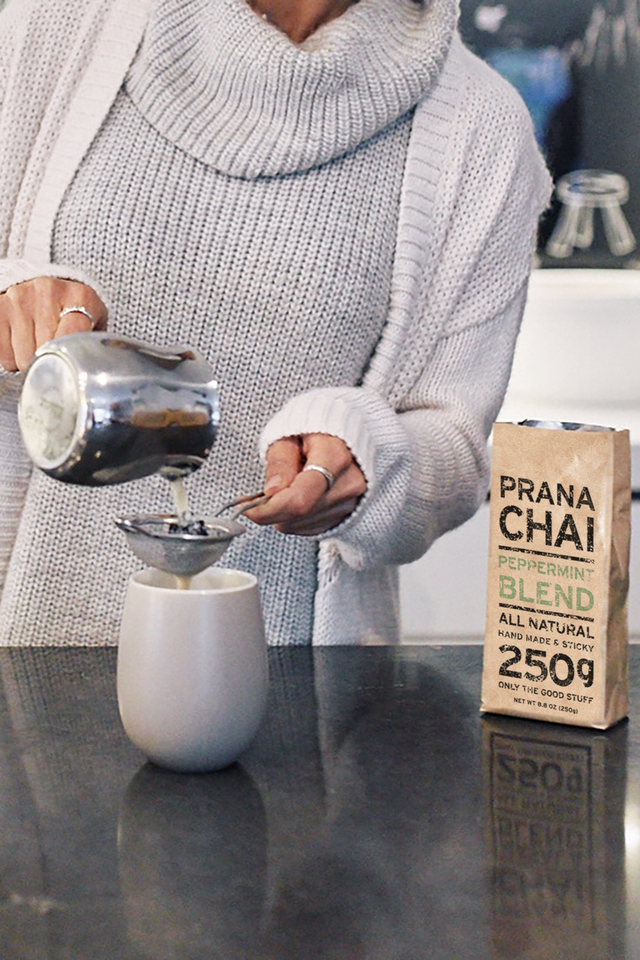 Prana Chai Peppermint Blend 250g Starter Kit