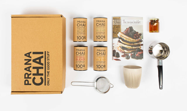 Prana Chai Multi Pack 4 x 100gr Starter Kit