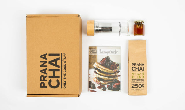 Prana Chai Vegan (Agave) Blend 250g Cold Brew Starter Kit