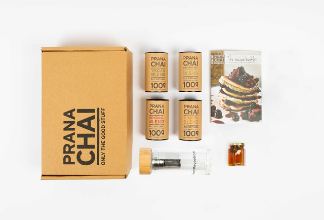 Prana Chai Multi Pack 4 x 100gr Cold Brew Starter Kit