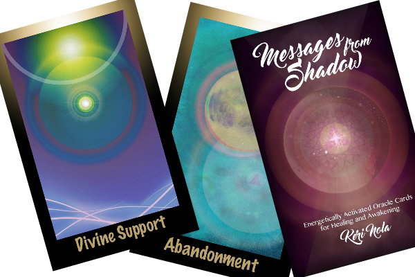 Oracle Card Deck: Messages From Shadow + Guide Book