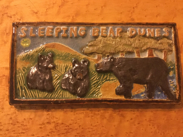 Sleeping Bear Dunes Tile by Leif Sporck
