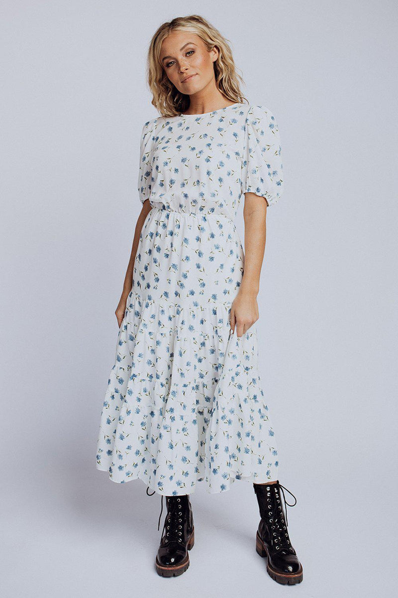 best_seller, 500 Days Of Summer Floral Midi Dress, , women's clothing, dresses, skirts, coats, jackets, shoes, boots, tops, tee shirts, jeans, free people, levi's, rollas, jumpsuits, bottoms, tops, sweaters, pullovers, pants, shorts, sweats,.