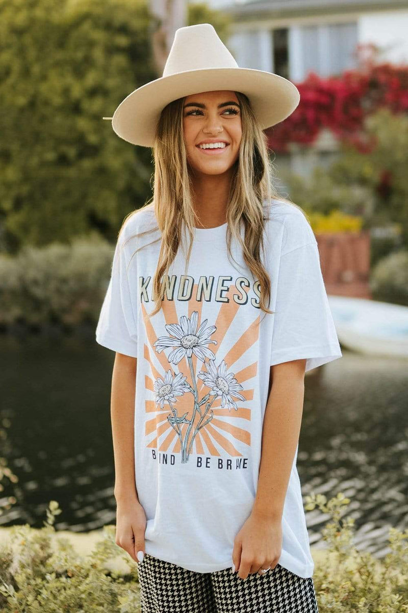 Be Kind Be Brave Tee
