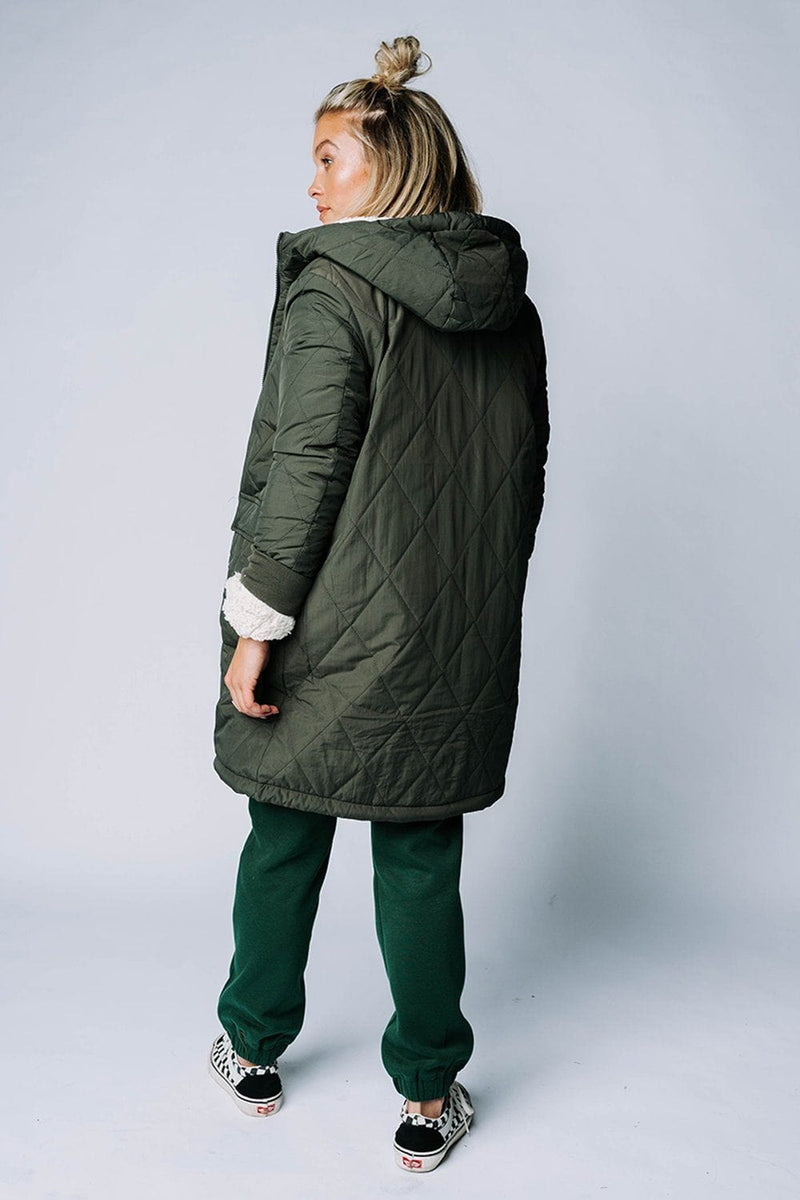 The Bender Reversible Coat, cladandcloth, All in Favor.