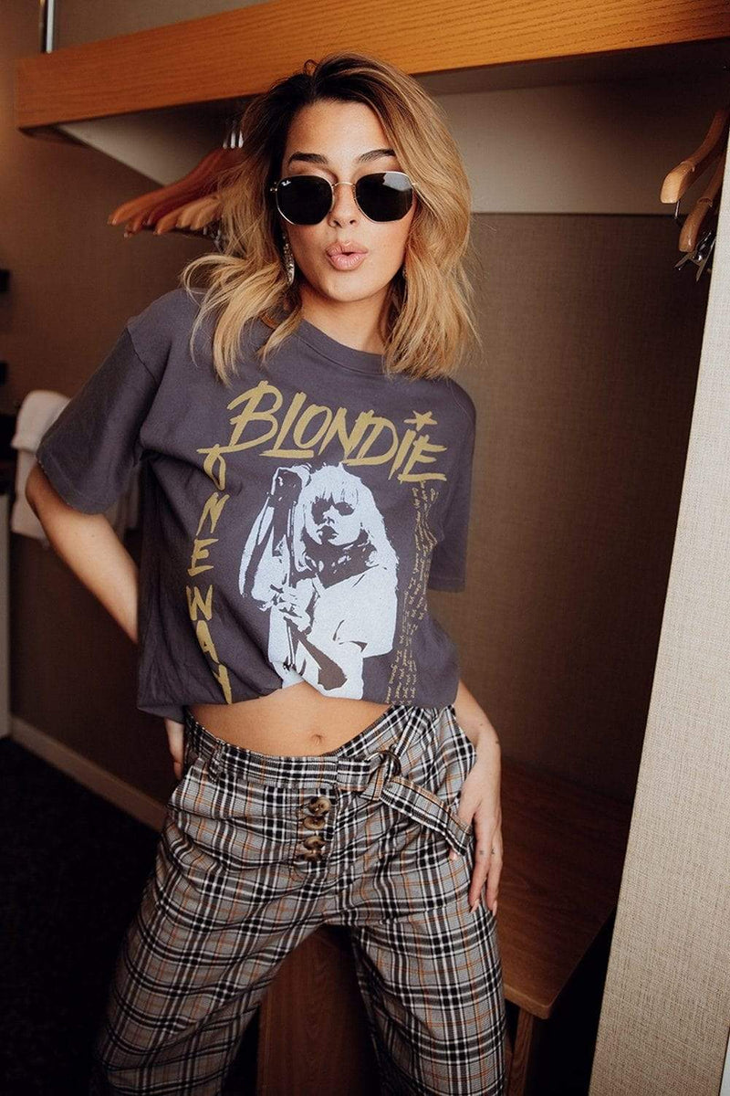 Clad and Cloth, Blondie One Way or Another Weekend Tee, Clad & Cloth, Top.