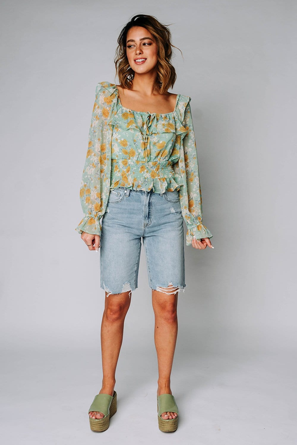 Capitol Reef Smocked Top