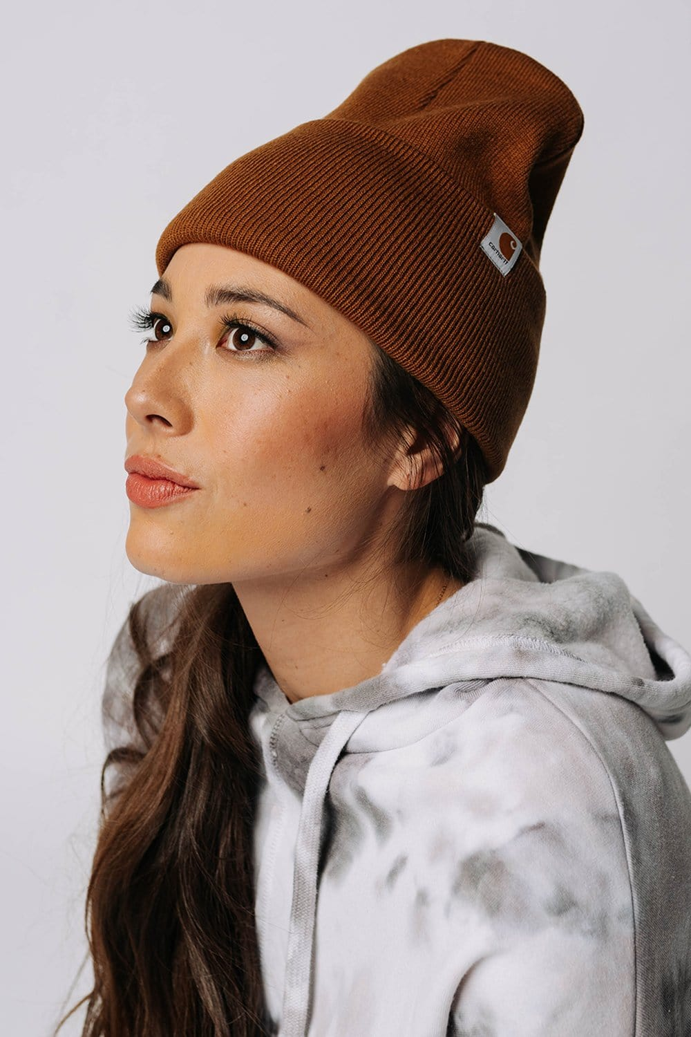 Clad and Cloth, Carhartt Beanie in Camel, Ocean & 7th, Accessory.