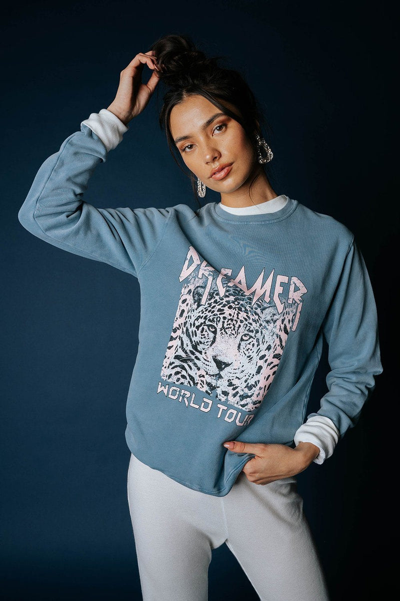 Dreamer World Tour Graphic Sweatshirt, cladandcloth, Zutter.