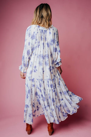 Feeling Groovy Maxi Dress in Vintage Ivory Dress Free People Clad and Cloth
