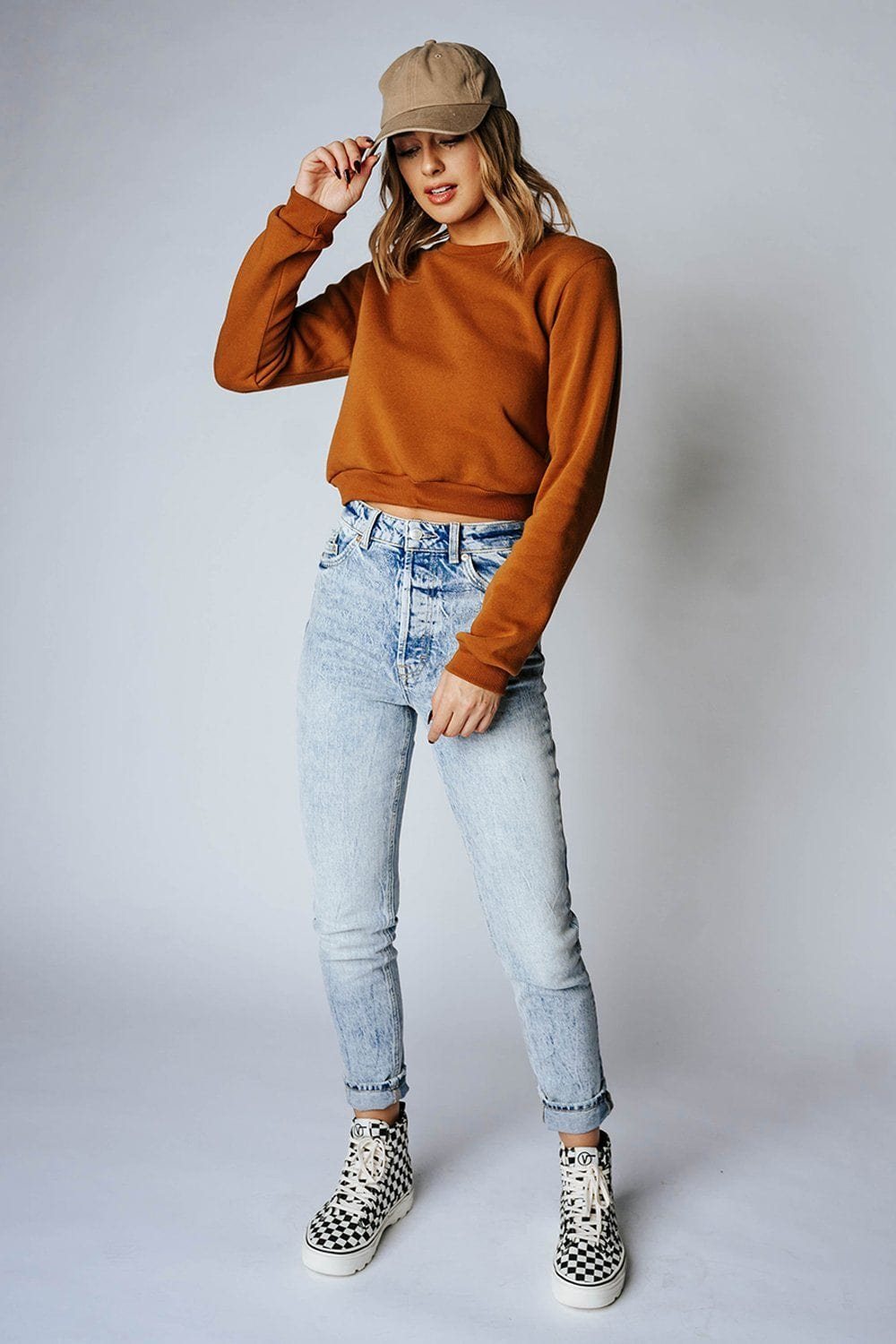 Free People Zuri Mom Jeans in Lived in Blue, cladandcloth, Free People.