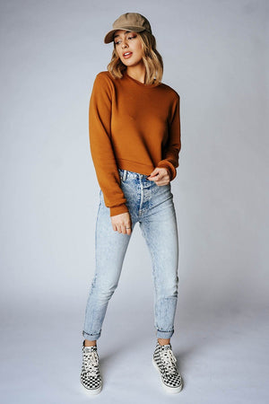 Clad and Cloth, Free People Zuri Mom Jeans in Lived in Blue, Free People, Bottom.