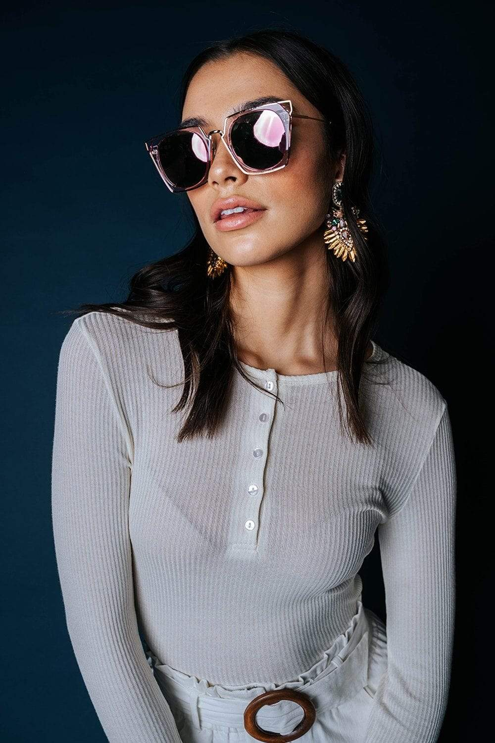 Clad and Cloth, Hip to Be Square Sunglasses, Cramilo Eyewear, Accessory.