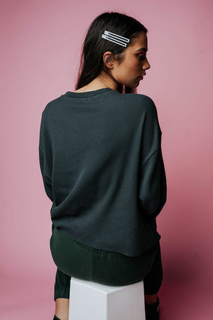 Legendary Long Sleeve Crop Thermal, cladandcloth, n/a.