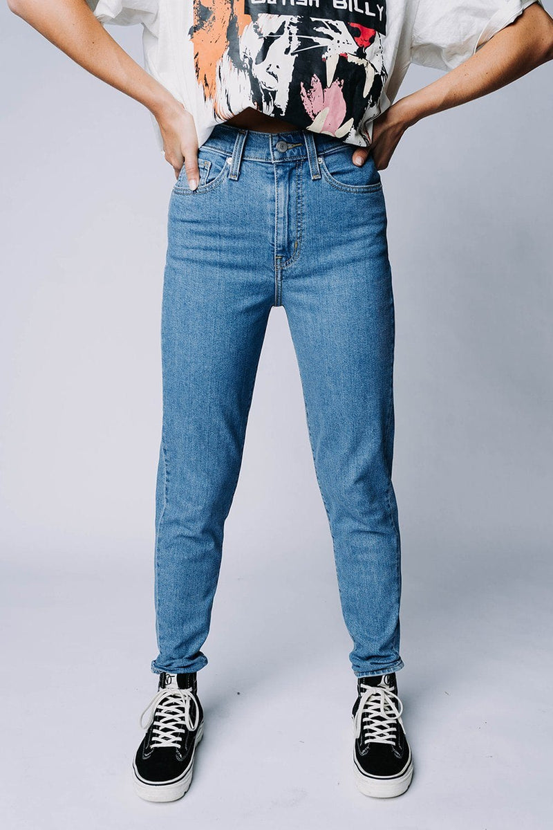 Levi's High Waisted Taper Jean in FYI, cladandcloth, Levi's.