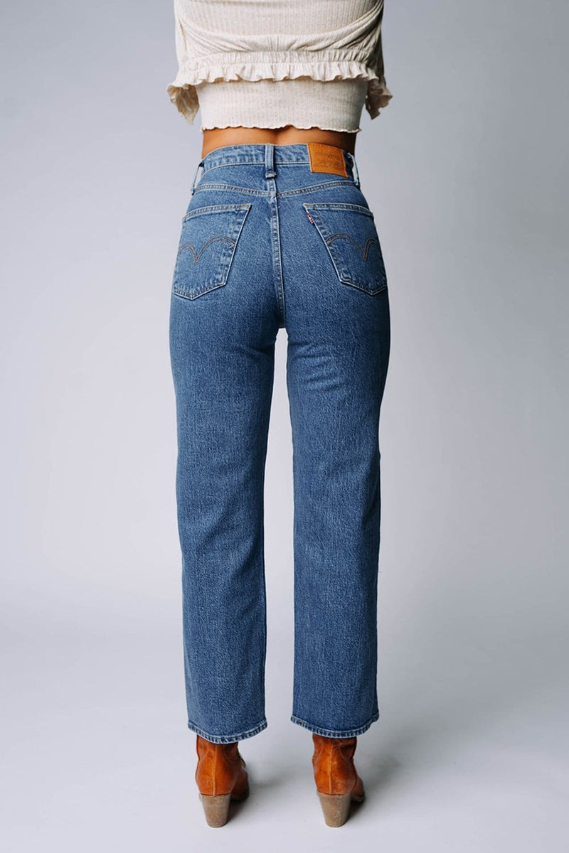 Clad and Cloth, Levi's Ribcage Straight Ankle in Georgie, Levi's, Bottom.