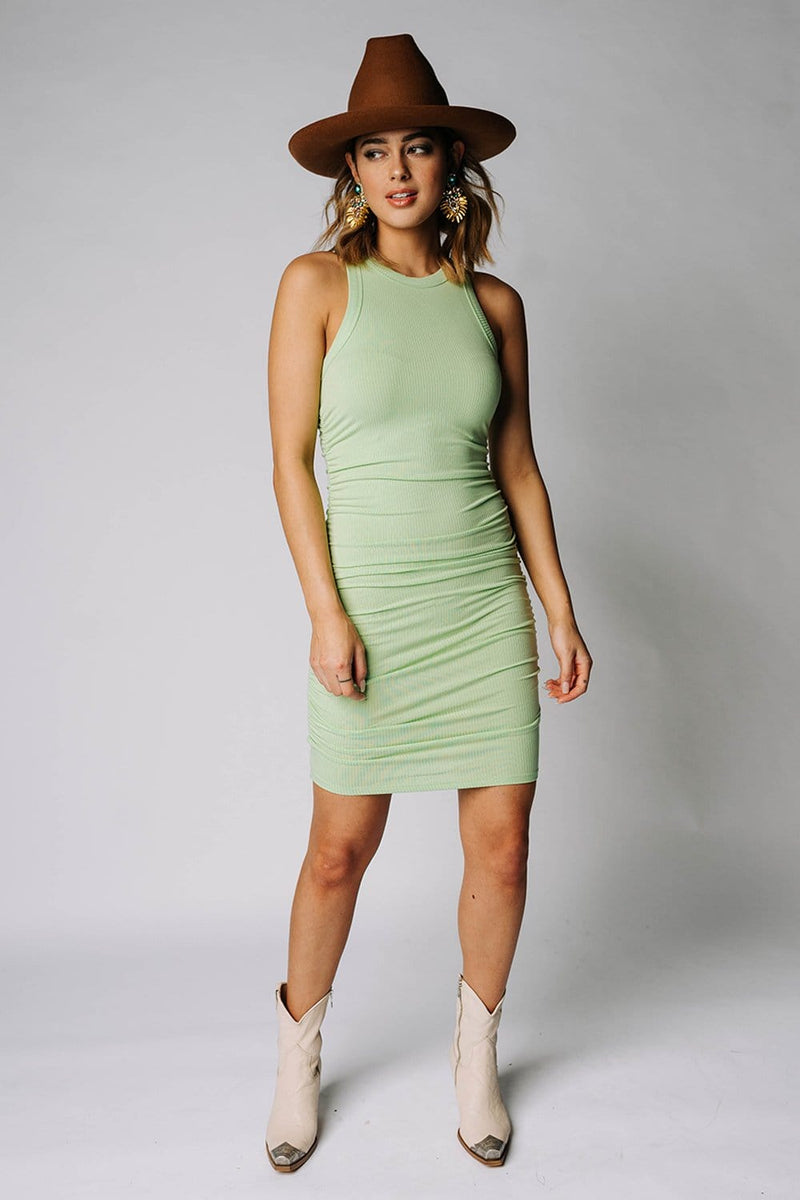 Lime In The Coconut Mini Dress