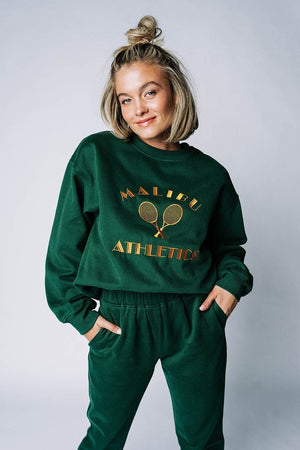 Malibu Athletics Pullover Top Bailey Rose Clad and Cloth