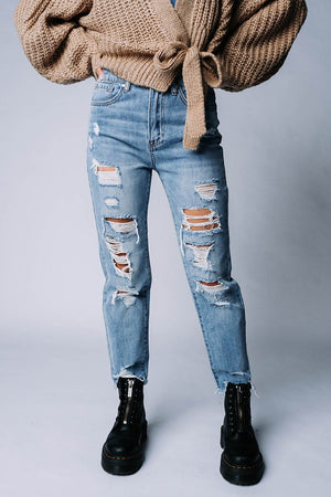 Melrose High Rise Jeans n/a Clad and Cloth