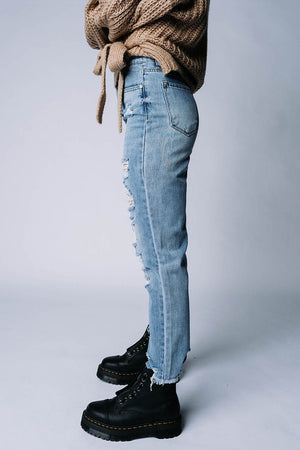 Clad and Cloth, Melrose High Rise Jeans, Clad & Cloth, .