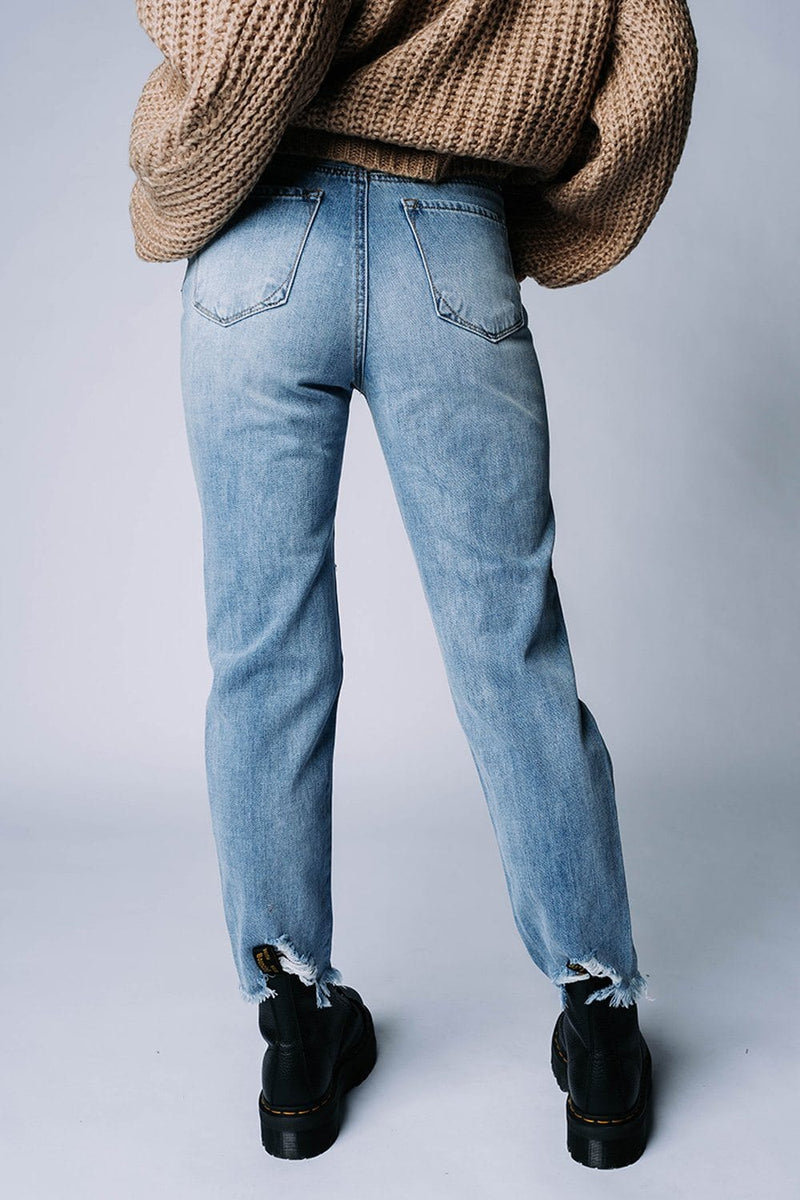 Melrose High Rise Jeans, cladandcloth, n/a.