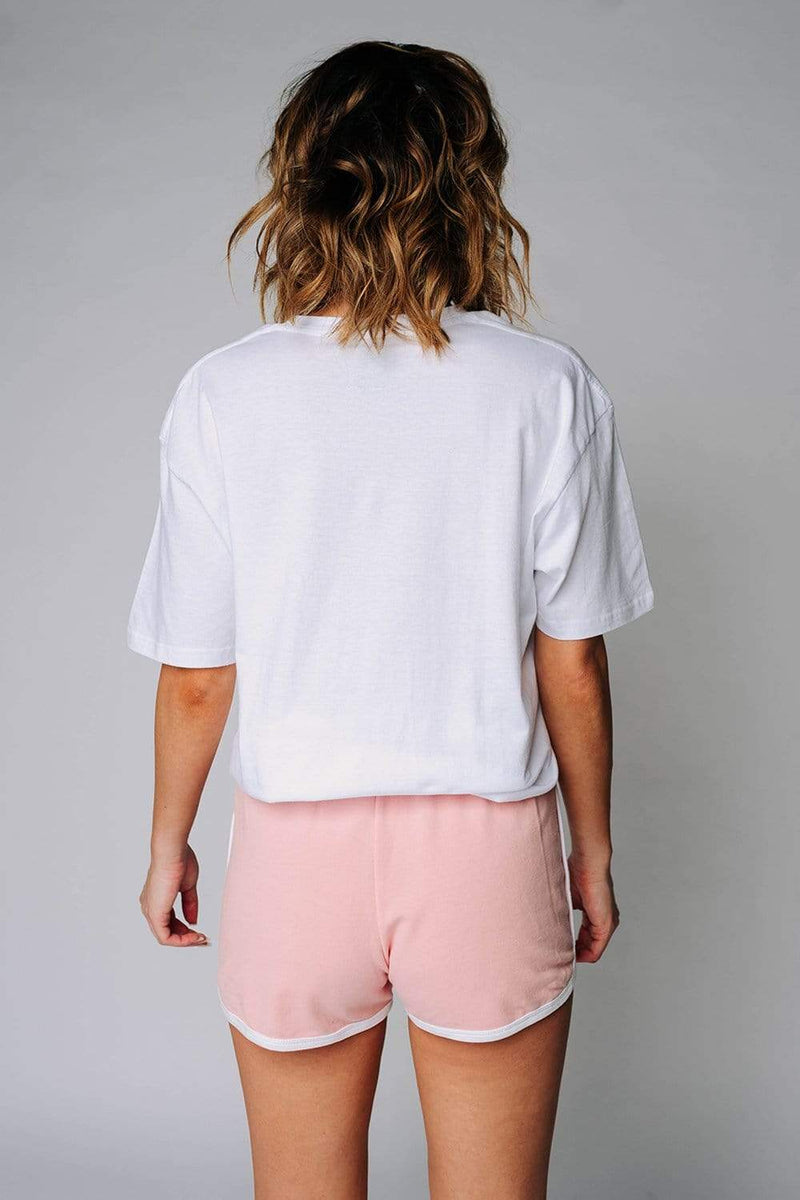 Old Skool Shorts in Blush