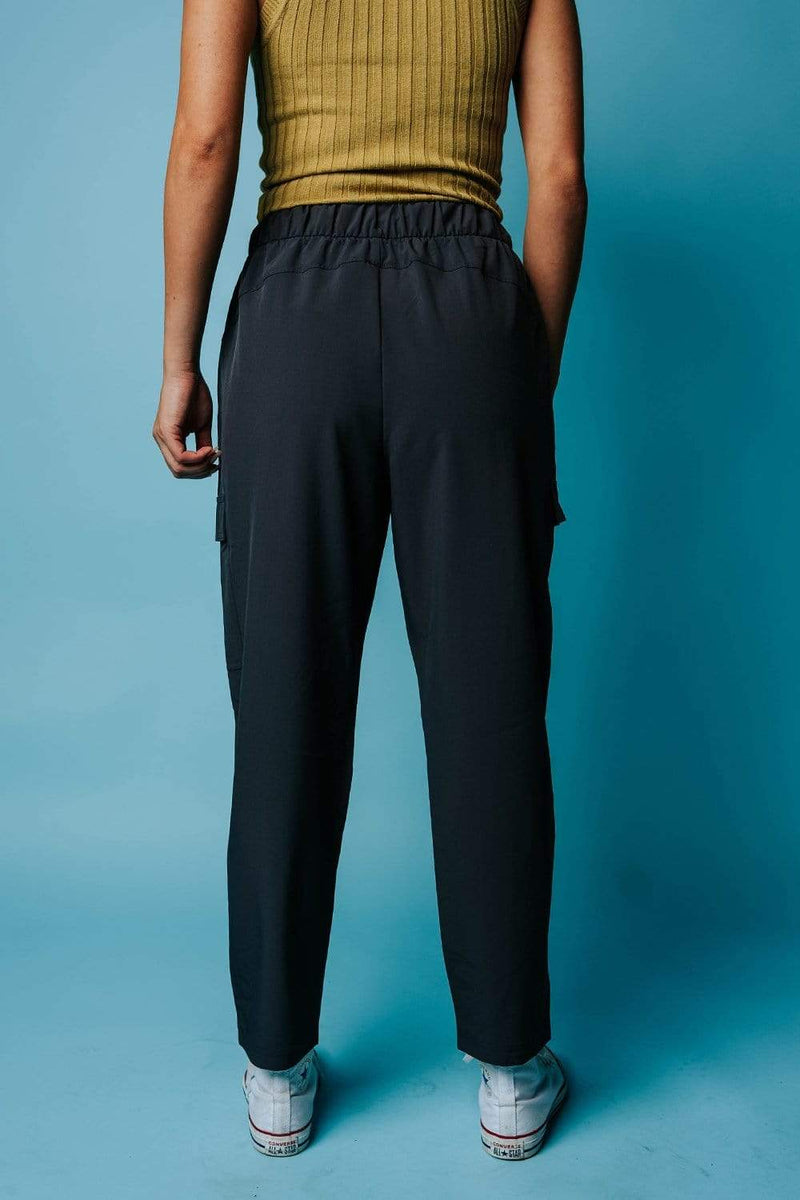 On The Go Pant in Charcoal