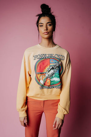 Pink Floyd Wish You Were Here Sweatshirt Top Daydreamer Clad and Cloth